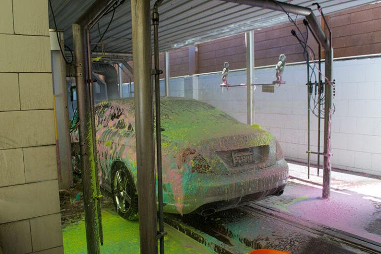 Cum se măsoară zgomotul ambiental la o spălătorie auto