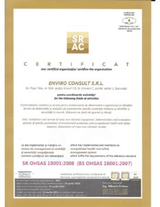 Certificare 18001